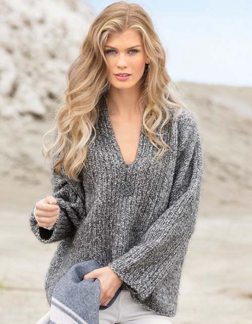 pulover iz tolstoj pryazhi