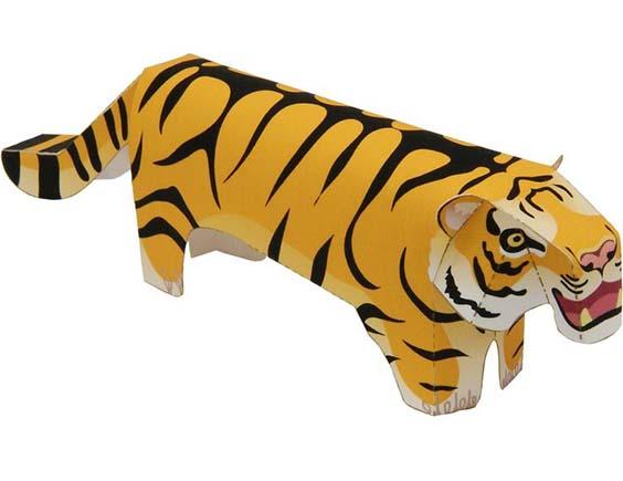 """ob""""emnyj tigr iz bumagi"""